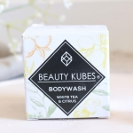 Beauty Kubes Kostki do mycia ciała White Tea and Citrus 27kostek