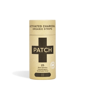 Patch Organiczne plastry z bambusa Activated Charcoal 25szt