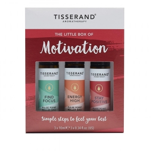 Tisserand Zestaw 3 olejków eterycznych The Little Box of Motivation (3x10ml)