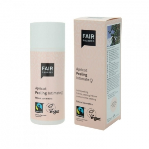 Fair Squared Peeling do strefy intymnej Apricot 150ml