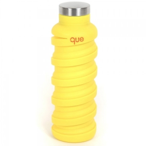 Que Bottle Silikonowa składana butelka Citrus Yellow do 600ml