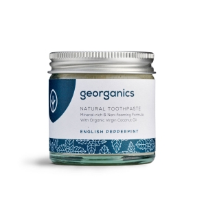 Georganics Naturalna mineralna pasta do zębów English Peppermint 60ml