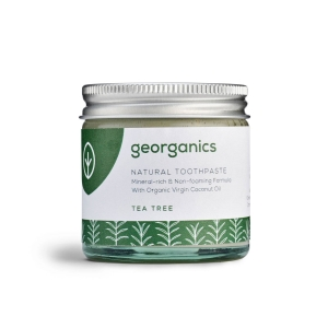 Georganics Naturalna mineralna pasta do zębów Tea Tree 60ml