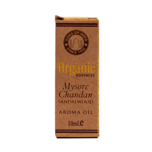 Song Of India Organic Olejek aromaterapeutyczny Mysore Chandan Sandalwood 10ml