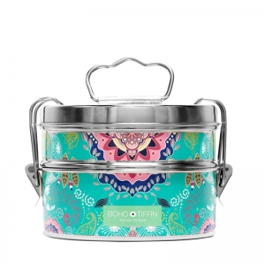 Boho Tiffin Lunchbox Paisley Salad (2x750ml)