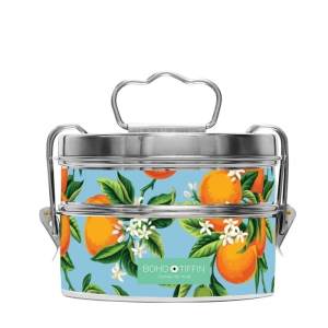 Boho Tiffin Lunchbox Fruity Orange Salad (2x750ml)
