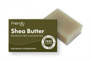 Friendly Soap Naturalne mydło do twarzy Shea Butter 95g