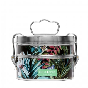 Boho Tiffin Lunchbox Botanic Black Salad (2x750ml)