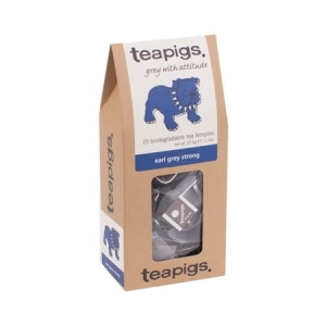 Teapigs Herbata Earl Grey Strong 15 piramidek