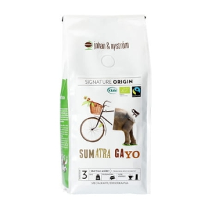 Johan & Nyström Sumatra Gayo Mountain Fairtrade kawa 500g