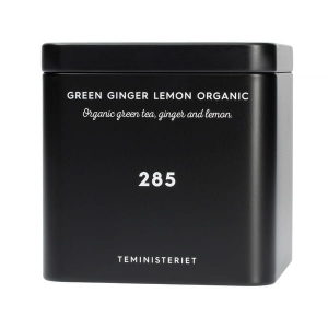 Teministeriet Collection Zielona herbata 285 Ginger Lemon Organic 100g