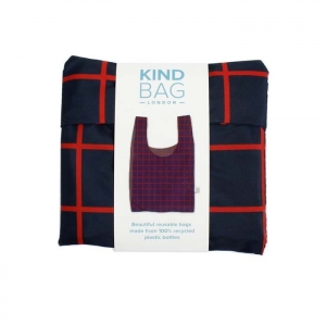 Kind Bag London Wielorazowa torba na zakupy rPET Grid
